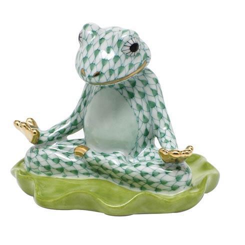 Yoga Frog -  Green