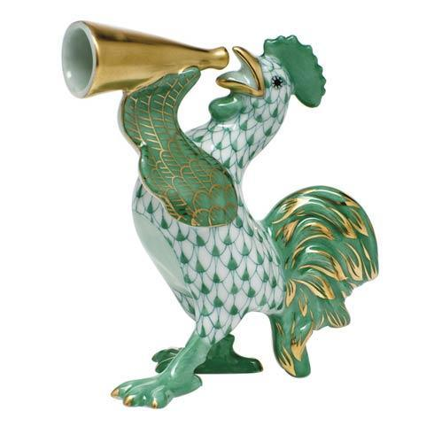 $350.00 Crowing Rooster -  Green