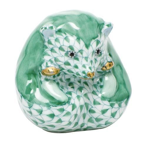 Herend Figurine's Miscellaneous Baby Hedgehog - Green $265.00