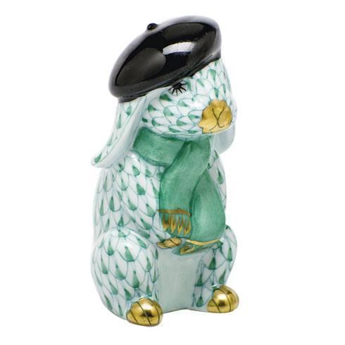 $275.00 Beret Bunny - Green