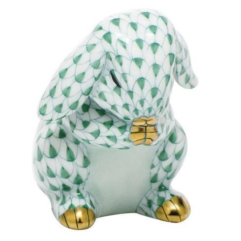 Herend Figurines Bunnies Praying Bunny $235.00