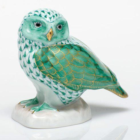 $350.00 Burrowing Owl - Green
