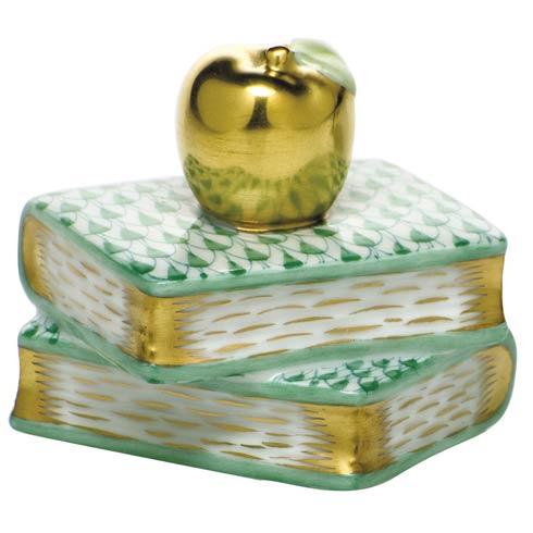 $225.00 Apple on Books - Green