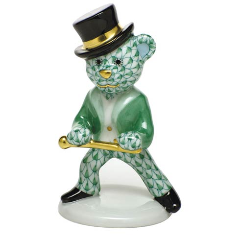 $325.00 Tap Dance Bear - Green