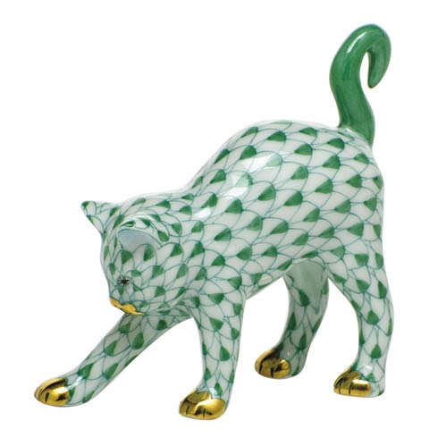 $285.00 Arched Cat-Green