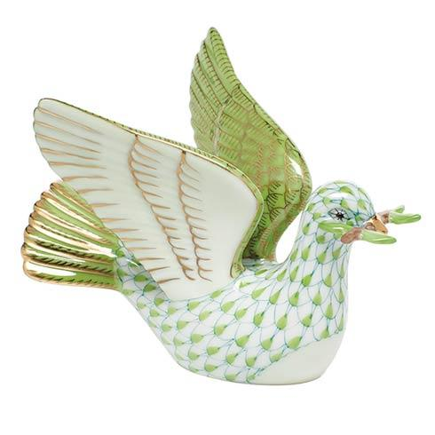 Peace Dove with Branch - Key Lime