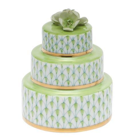 Herend Figurines Miscellaneous Wedding Cake - Key Lime $195.00