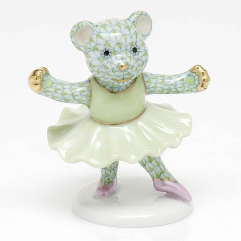 $325.00 Ballerina Bear - Key Lime