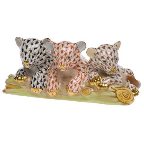 $625.00 Tiger Cubs - Blk & Rst & Brn