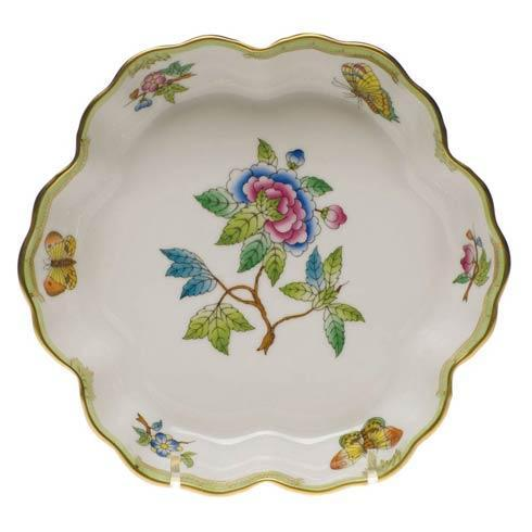 Herend Collections Queen Victoria Green Border Fruit Bowl $285.00