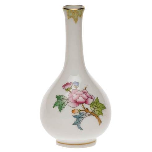 Herend Queen Victoria Green Border Bud Vase $80.00