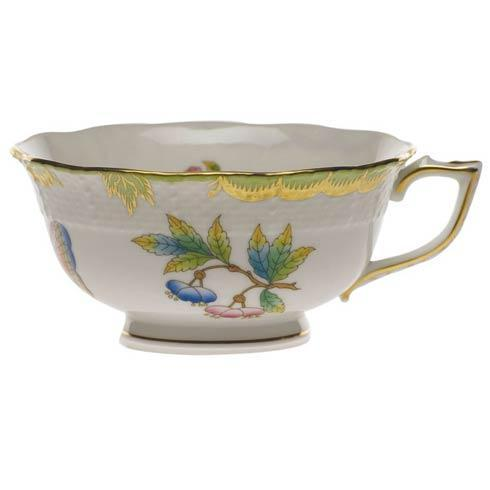 Herend Queen Victoria Green Border Tea Cup $160.00