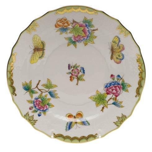 Herend Queen Victoria Green Border Salad Plate $150.00