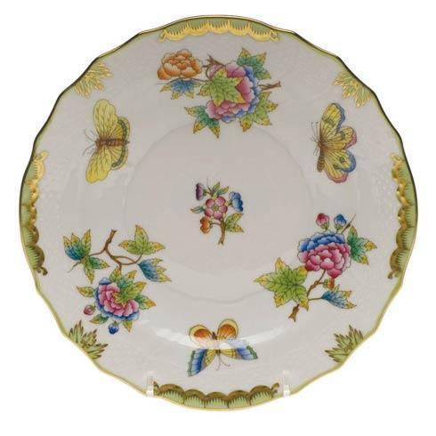 Herend  Queen Victoria Green Border Salad Plate $150.00