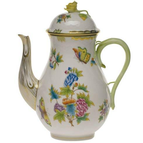 $600.00 Coffee Pot W/Rose