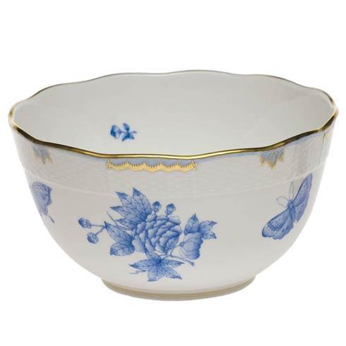 Herend Fortuna Blue Round Bowl $275.00