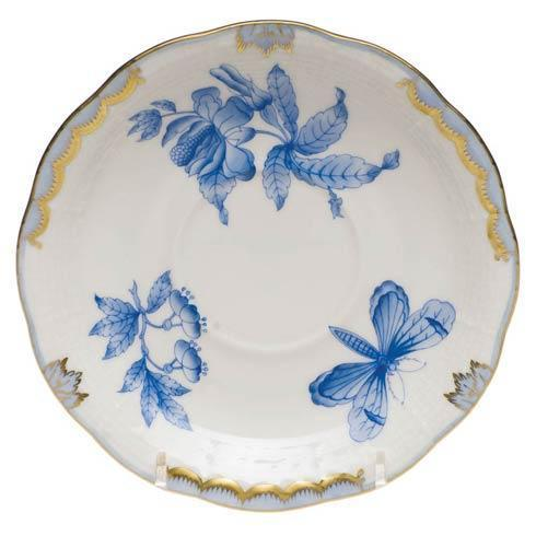 Herend Fortuna Blue Tea Saucer $80.00