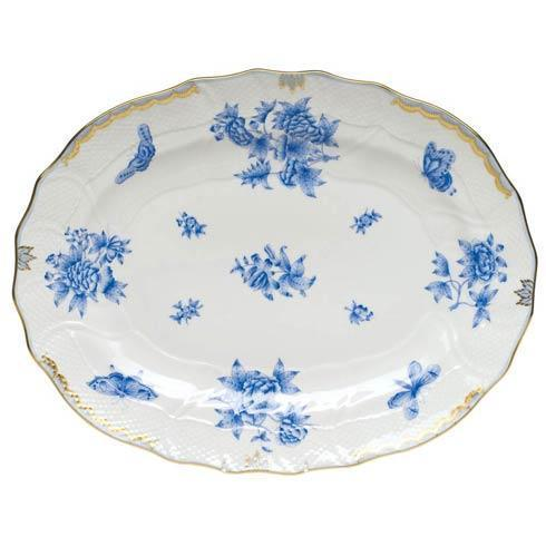 Herend Collections Fortuna Blue Platter $700.00