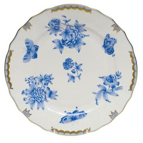 Herend Fortuna Blue Dinner Plate $205.00
