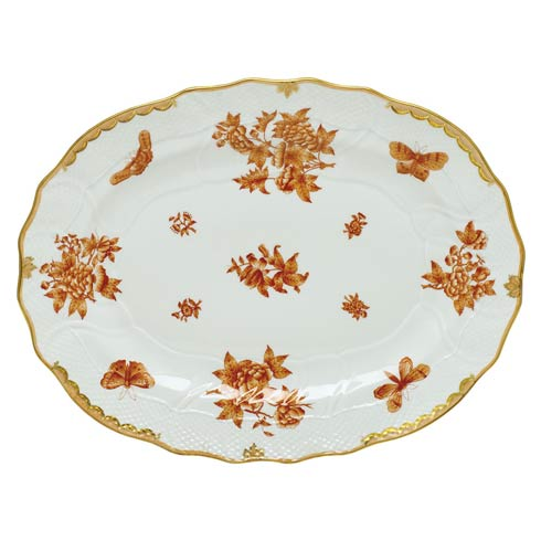 Herend Collections Fortuna Rust Platter  $700.00