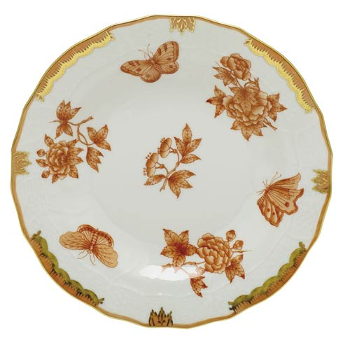 Herend Collections Fortuna Rust Dessert Plate $175.00