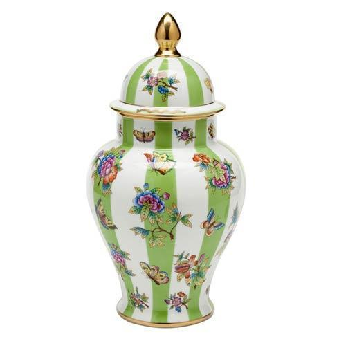 $1,950.00 Queen Victoria Covered Urn with Button Finial - Multicolor