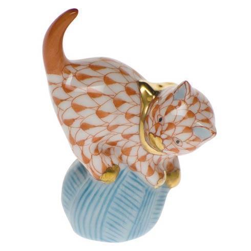 Herend Figurines Cats Mischievous Cat $100.00