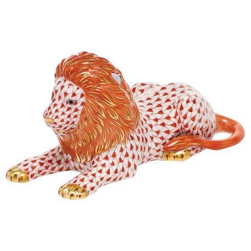 $495.00 Lion - Rust