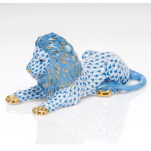 $495.00 Lion - Blue