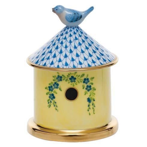 $295.00 Bird House Box - Blue