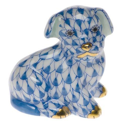 Herend Figurine's Dogs Miniature Puppy $175.00
