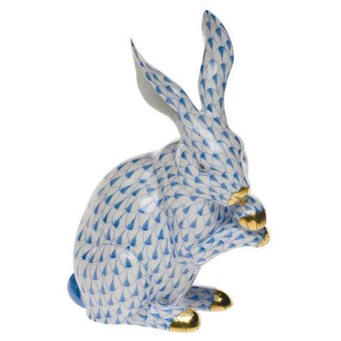 Herend Figurines Bunnies Medium Bunny W/Paws Up $510.00