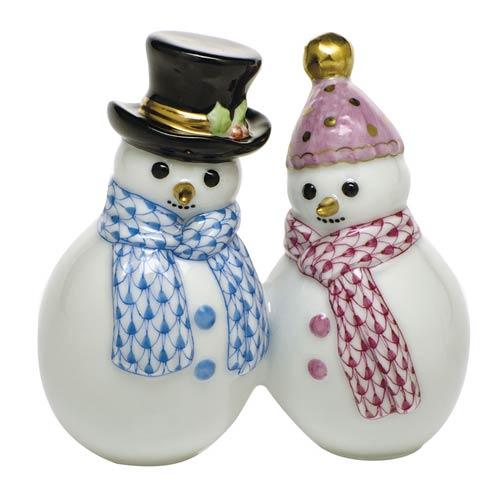 Snowman Couple-Multicolor image