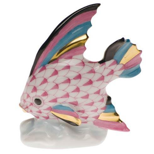 Herend Figurines Fish Fish Table Ornament $210.00