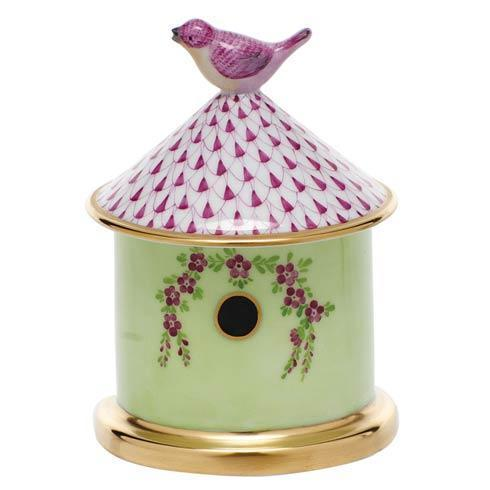 Bird House Box - Raspberry