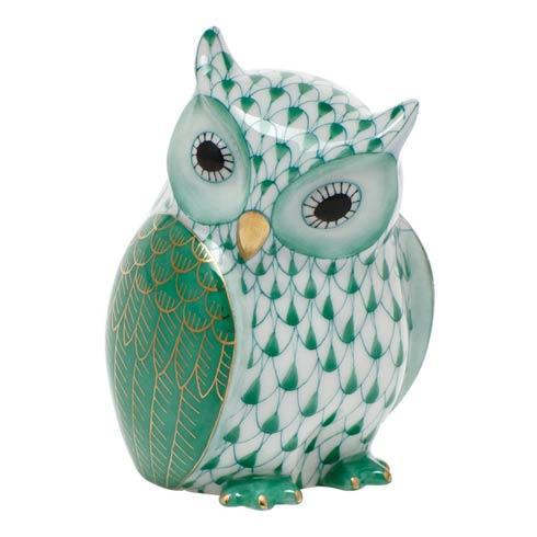 $285.00 Mother Owl - Green