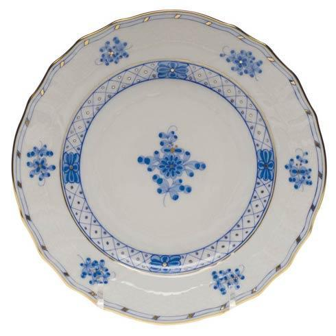 Herend  Blue Garden Bread & Butter Plate $110.00