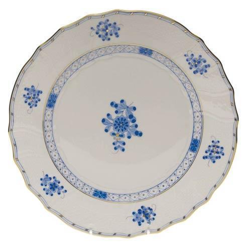 Herend  Blue Garden Dinner Plate $175.00
