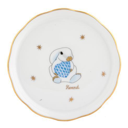$35.00 Coaster-Blue Bunny