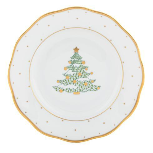 $165.00 Dessert Plate - Christmas Tree