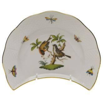 Herend Rothschild Bird Original (no border) Crescent Salad $190.00