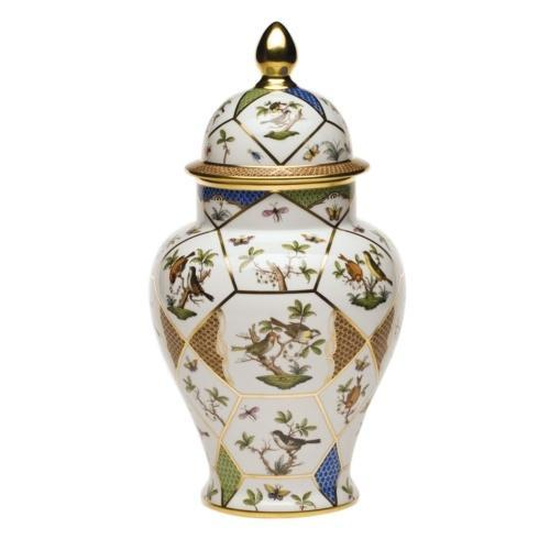Covered Urn W/Button Finial