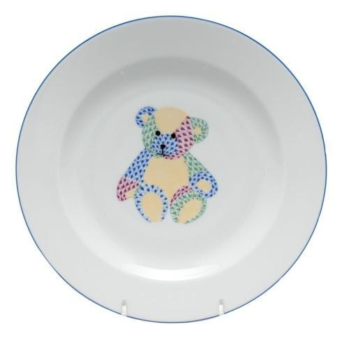 Plate with teddy bear - Multicolor