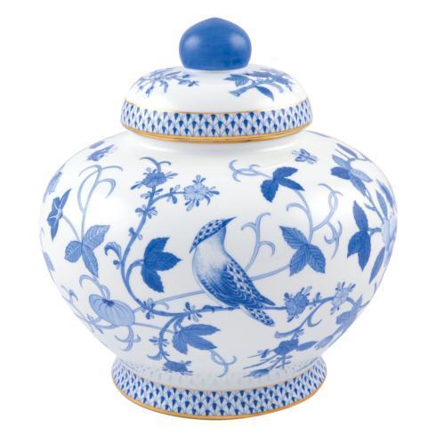 $5,975.00 Blue Peony Ginger Jar