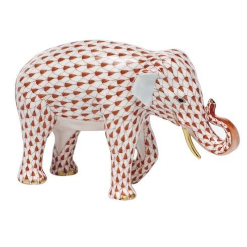 $785.00 Asian Elephant - Rust