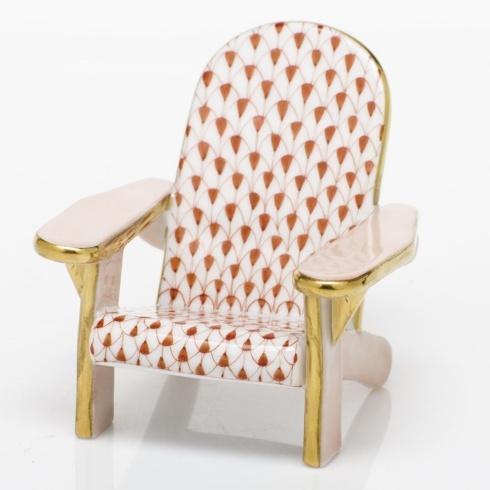 $295.00 Adirondack Chair - Rust