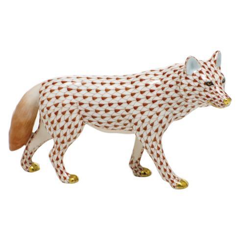 $525.00 Wolf - Rust