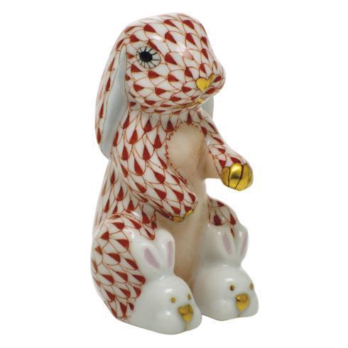 $325.00 Bunny Slippers - Rust