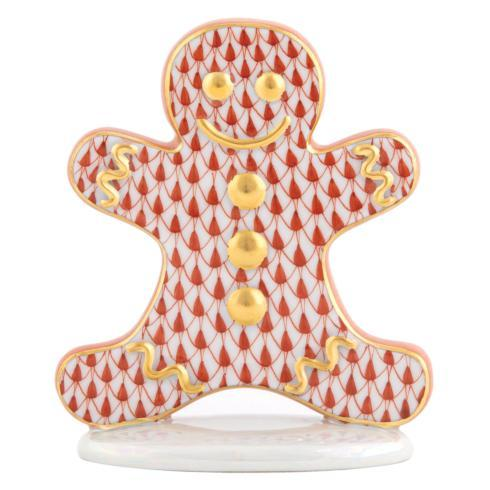 Herend Figurines Miscellaneous Gingerbread Man $220.00