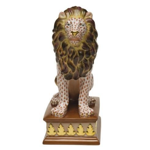$5,500.00 Lion On Pedestal